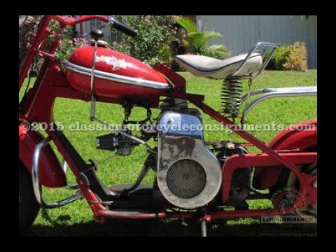 1952 Cushman Scooter
