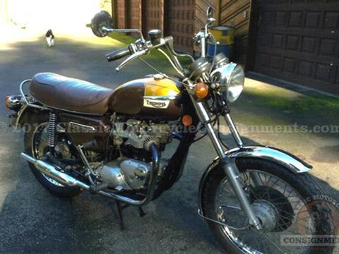 1978 Triumph T140v 750cc Motorcycle