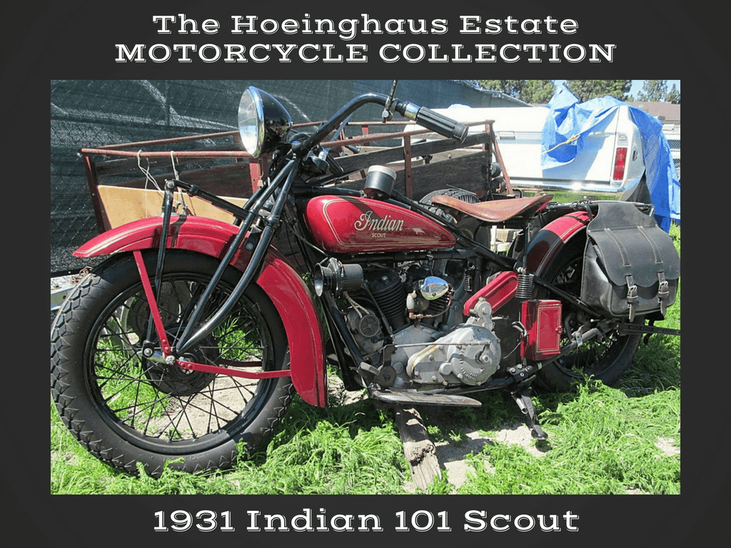 1931 Indian 101 Scout – Hoeinghaus Col