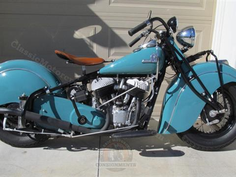 1942 Indian Chief Motorcycle