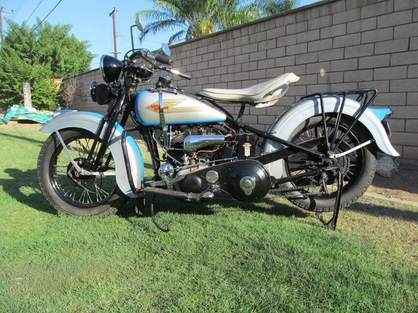 1934 Harley VLD — Sucher Collection