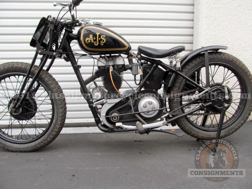1938 AJS 350 Motorcycle – Colver Col