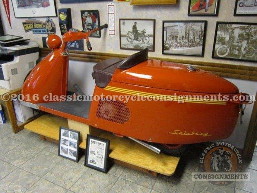 1947 Salsbury Model 85 Scooter