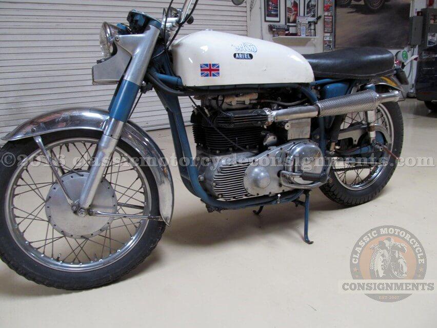 1953 Norton Ariel Motorcycle – Knapp Estate