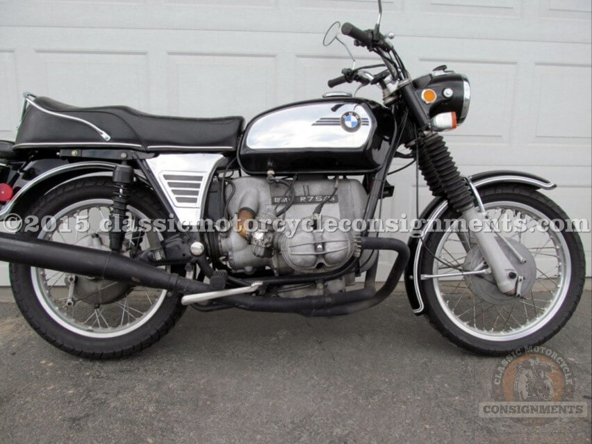 1972 BMW R75 S Motorcycle