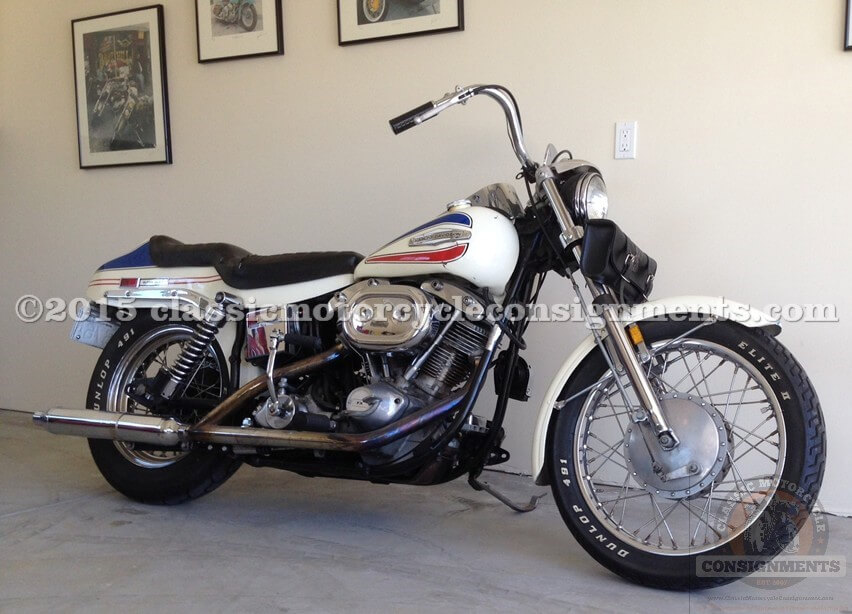 1972 Harley Davidson FX Boat Tail Nite Train