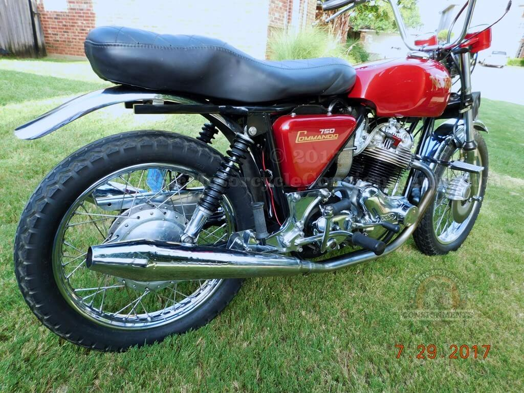 1973 Norton 750 Commando Combat Motorcycle –SOLD!!
