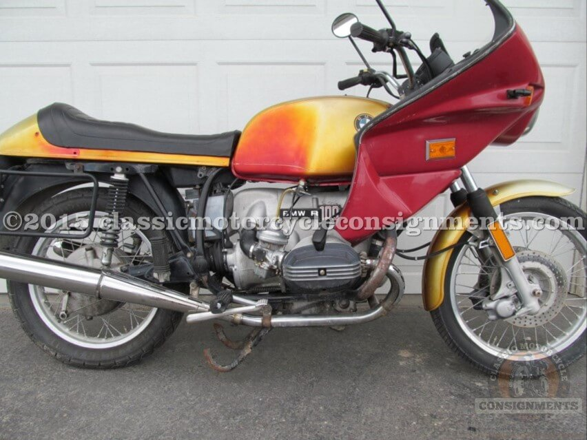 1977 BMW R 100 S Motorcycle