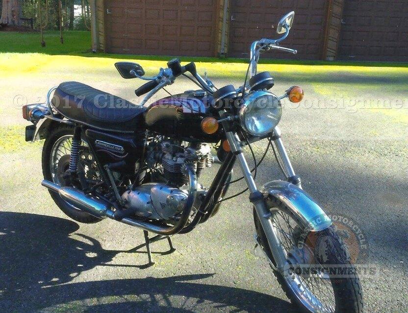 1978 Triumph T140e 750cc Motorcycle