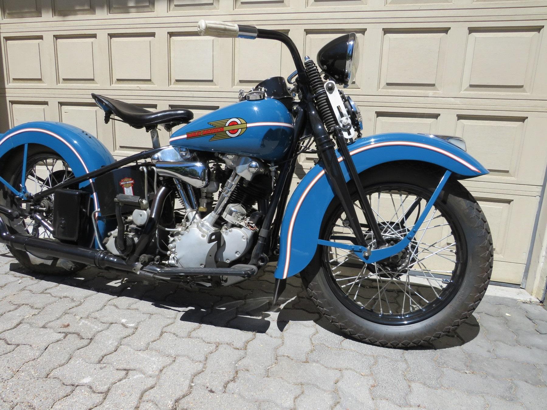 1938 Harley Davidson EL Knucklehead – Castoro Col